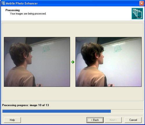 Capture d'écran Mobile Photo Enhancer