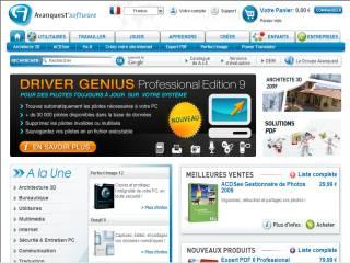 Capture d'écran A4Desk Flash Site Builder