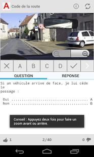 Capture d'écran Le Code de la Route (gratuit) – Android