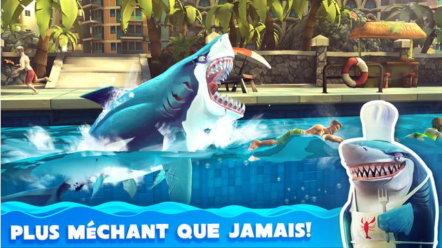 Capture d'écran Hungry Shark World – iOS