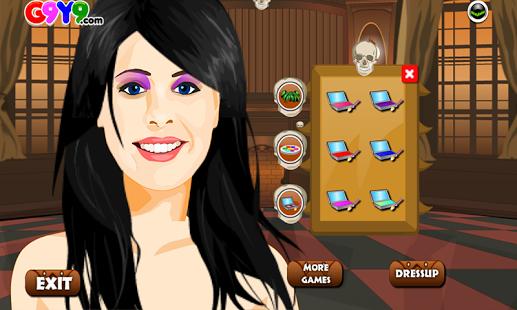 Capture d'écran Jeux princesse de relooking