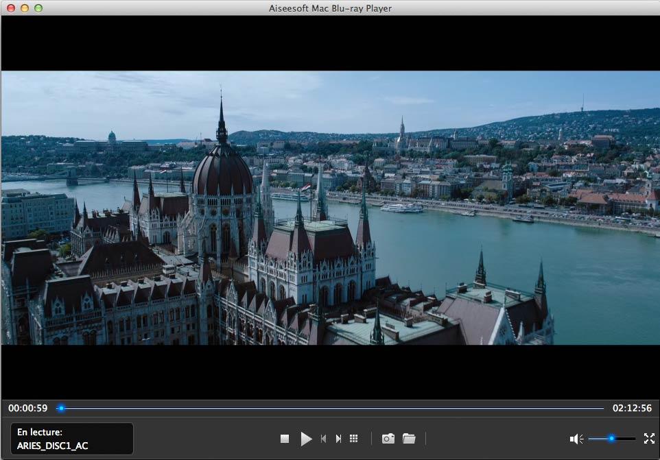 Capture d'écran Aiseesoft Mac Blu-ray Player