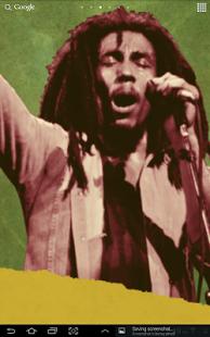 Capture d'écran Bob Marley Video LWP