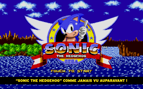 Capture d'écran Sonic The Hedgehog