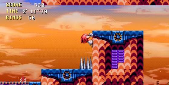 Capture d'écran Sonic Twisted Time