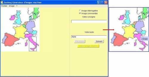 Capture d'écran GenImaj