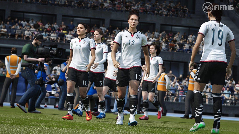 Capture d'écran FIFA 16