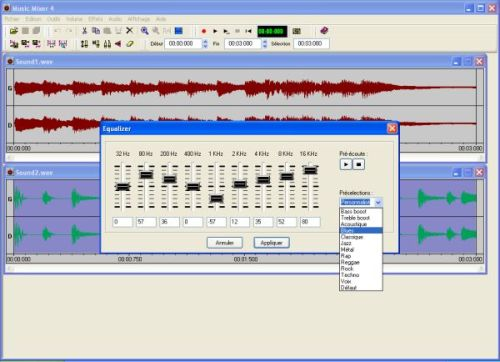 Capture d'écran Music Mixer