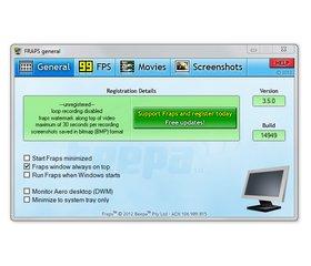 Capture d'écran Fraps