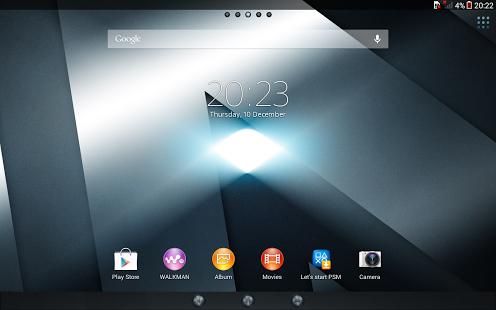 Capture d'écran Xperia™ thème – Reality