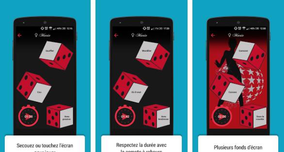 Capture d'écran Dés Coquins Android