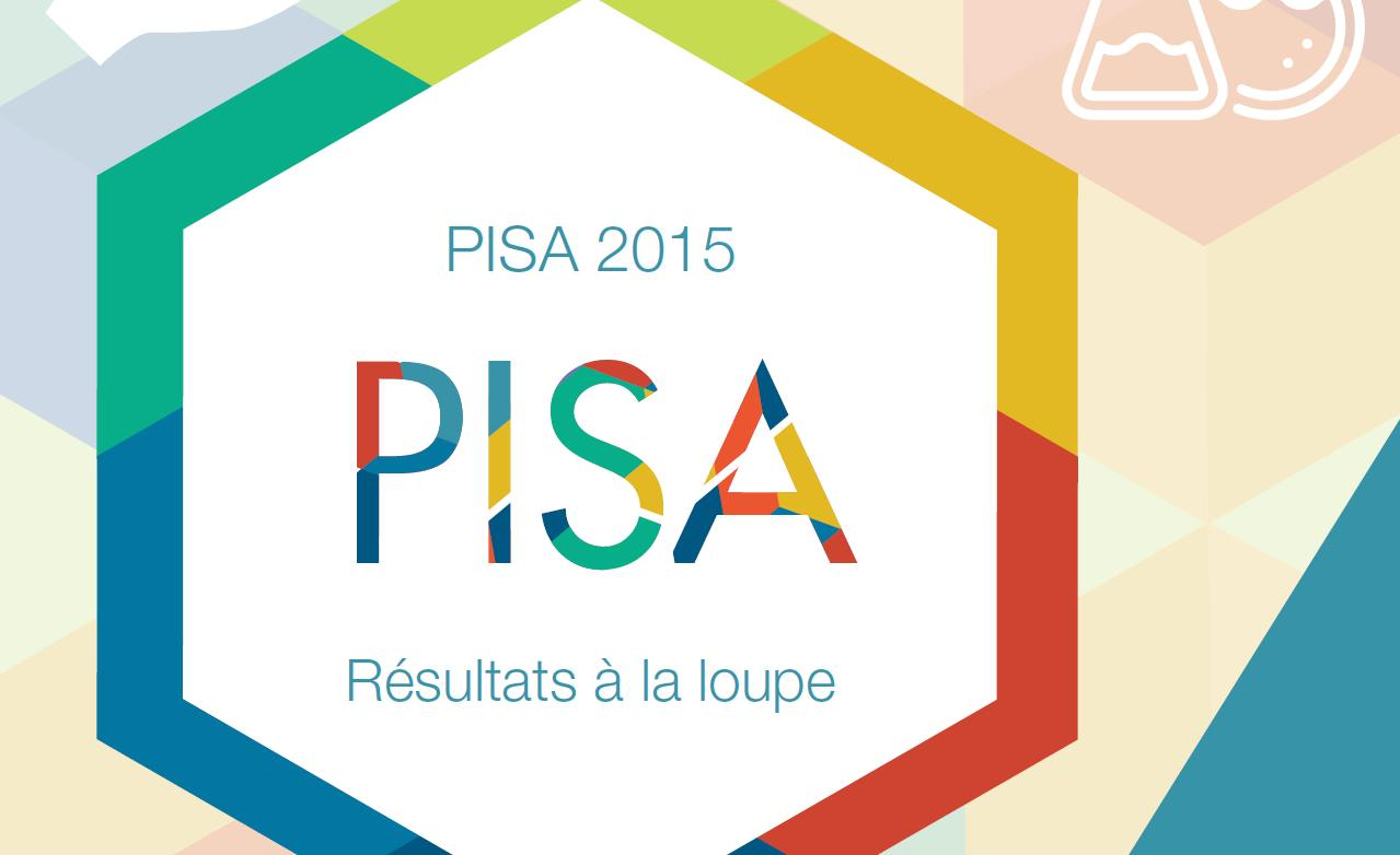 Capture d'écran Rapport PISA 2015 de l'OCDE