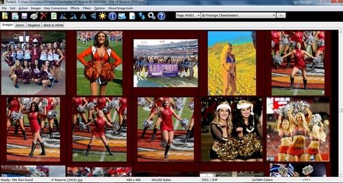 Capture d'écran Image Tools