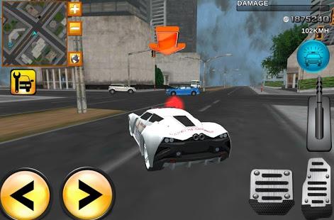 Capture d'écran Furious 3D Ambulance Race 2015