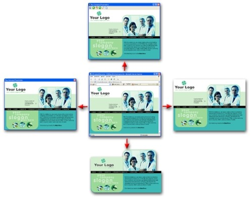 Capture d'écran Discstarter CD-ROM Autorun Menu System