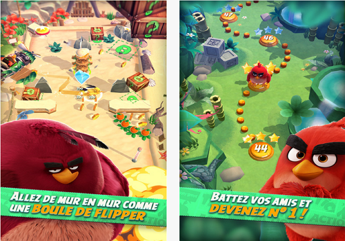 Capture d'écran Angry Birds Action ! iOS