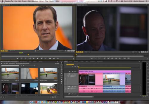 Capture d'écran Adobe After Effects CS6