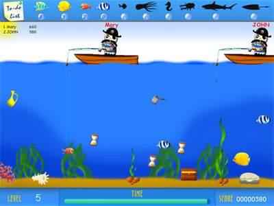Capture d'écran Crazy Fishing Multiplayer