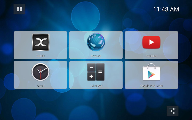 Capture d'écran Simple TV Launcher Android