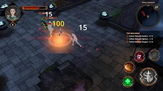 Capture d'écran Anzen : Echoes of War Android