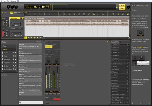 Capture d'écran Ohm Studio