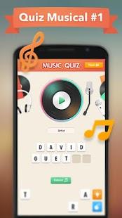 Capture d'écran Music Quiz (Quiz Musical)