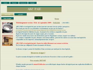 Capture d'écran ABZ_PAIE
