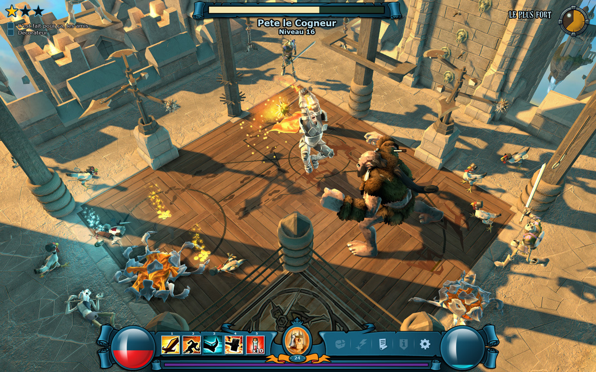 Capture d'écran The Mighty Quest for Epic Loot