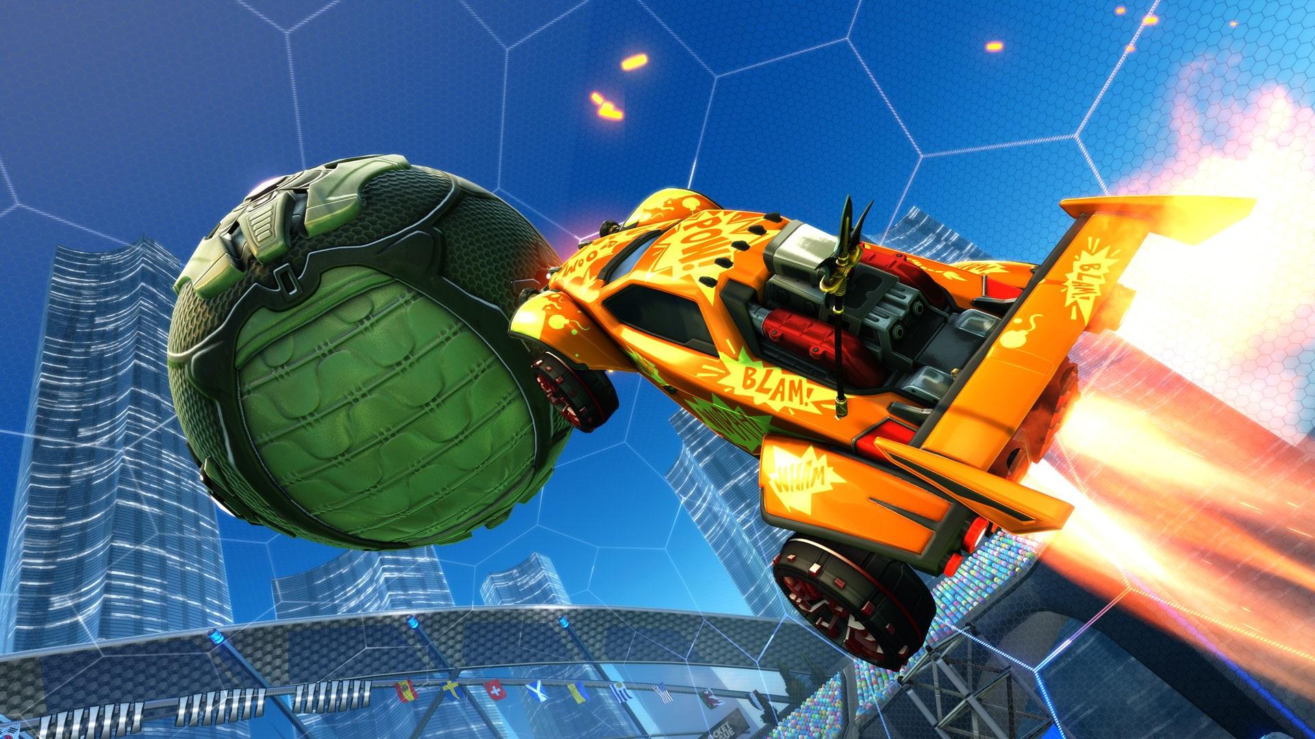 Capture d'écran Rocket League Sideswipe