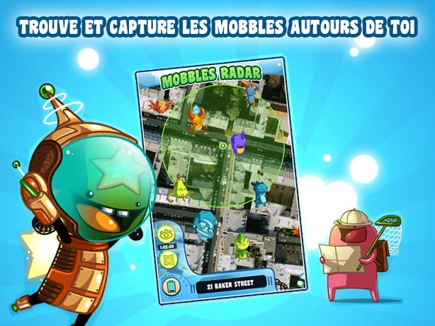 Capture d'écran Mobbles Android