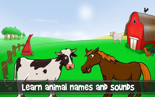 Capture d'écran Animal game for toddlers
