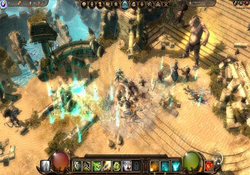 Capture d'écran Drakensang Online