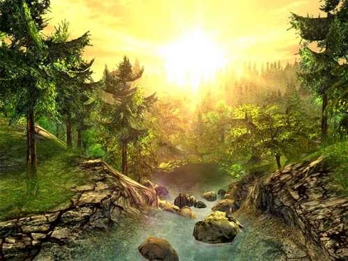 Capture d'écran Nature 3D Screensaver