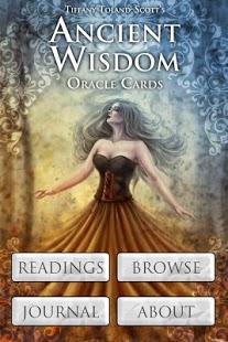 Capture d'écran Ancient Wisdom Oracle Cards