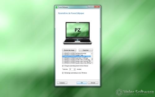 Capture d'écran PowerZallpaper