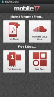 Capture d'écran Ringtone Maker Pro