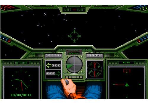 Capture d'écran Wing Commander l'écran de veille