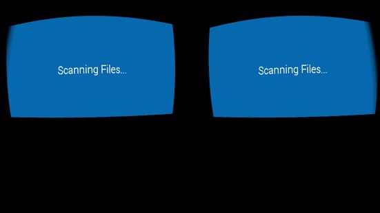 Capture d'écran Cardboard Video Player