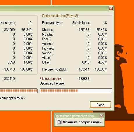 Capture d'écran Flash Optimizer (Lite Edition)