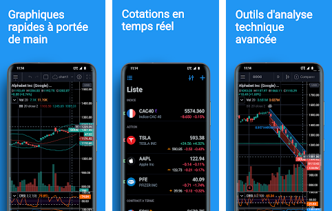 Capture d'écran TradingView Android