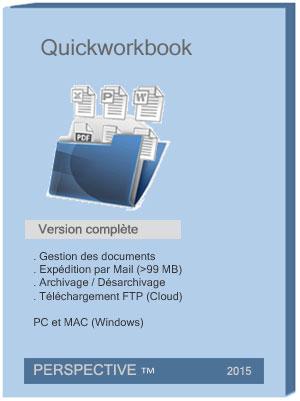 Capture d'écran Quickworkbook V4
