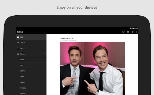 Capture d'écran 9gag – photos et vidéos drôles