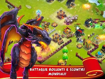 Capture d'écran Scontro di Regni: Castle Clash