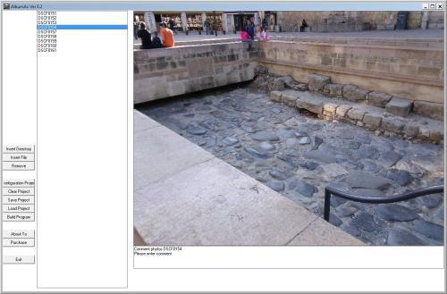 Capture d'écran AlbumAC