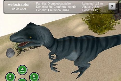 Capture d'écran E-solutions Velociraptor