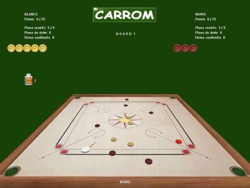 Capture d'écran CARROM SIMULATION PC
