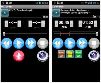 Capture d'écran MP3 Cutter Android