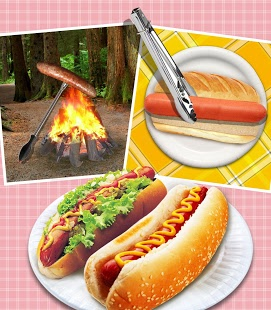Capture d'écran Hot Dog Maker!