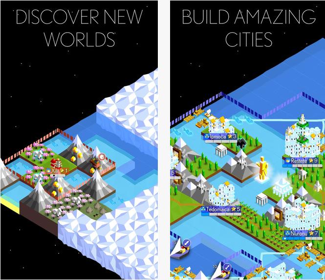 Capture d'écran Super Tribes iOS