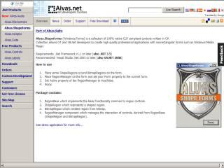 Capture d'écran Alvas.ShapeForms